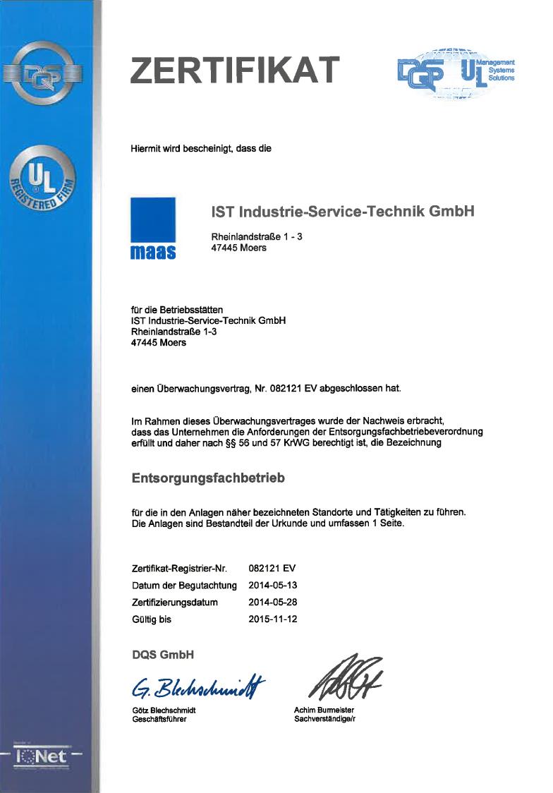 Efb-Zertifikat